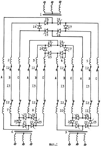 Электрическая сеть переменного тока