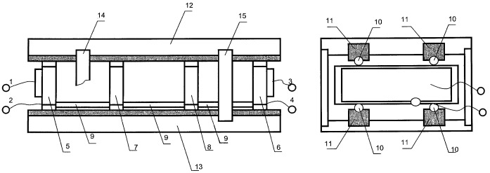 Колебательная система электромеханического фильтра