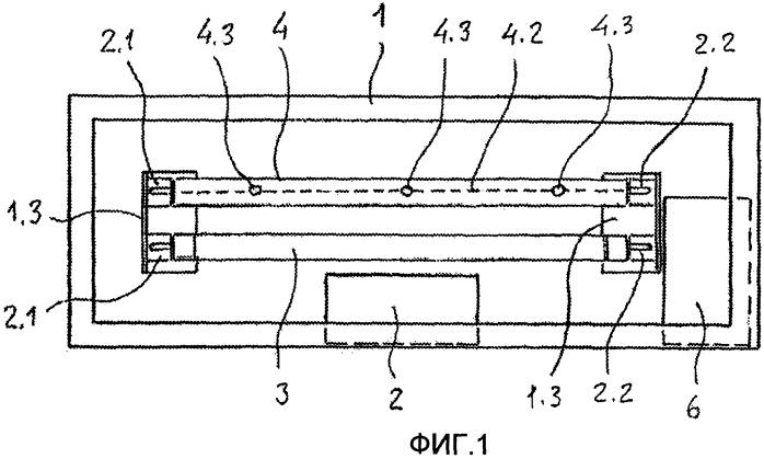 Устройство для арматуры люминесцентных ламп