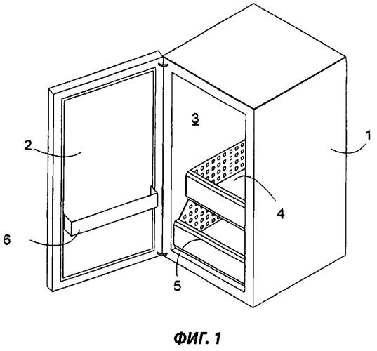 Телескопическое выдвижное устройство для холодильного аппарата