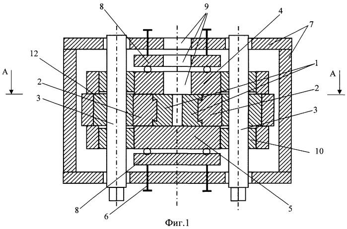 Устройство для непрерывного литья и деформации металла