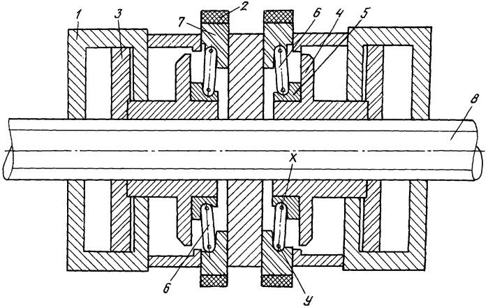 Устройство центровки и прижима трубчатых элементов