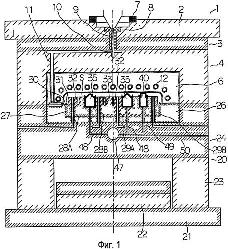 Способ литья под давлением и оборудование для литья под давлением (варианты)