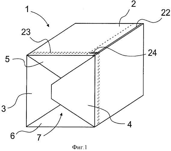Групповая упаковочная тара для листового материала и способ изготовления групповой упаковочной тары