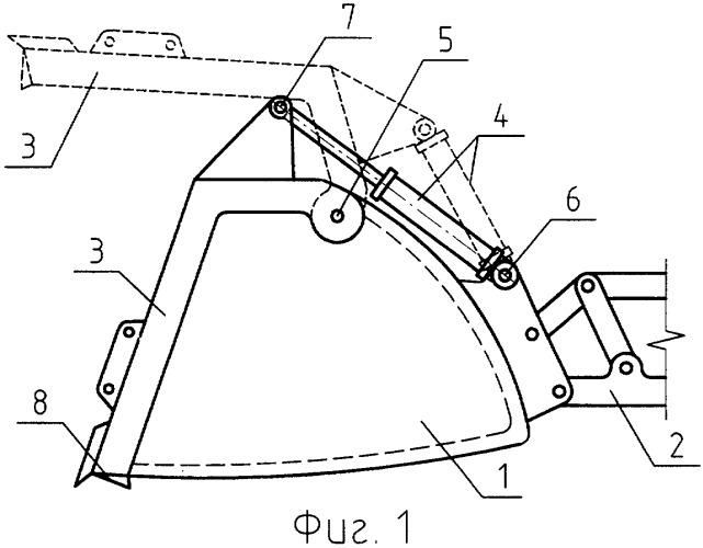 Рабочее оборудование гидравлического погрузчика