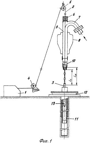Способ проведения геофизических работ через бурильную колонну