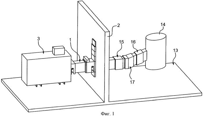 Устройство передачи электрического тока большой силы и высокой частоты