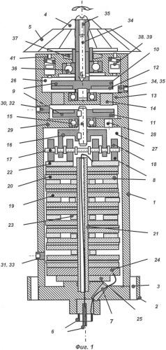 Электрогенератор питания скважинного прибора