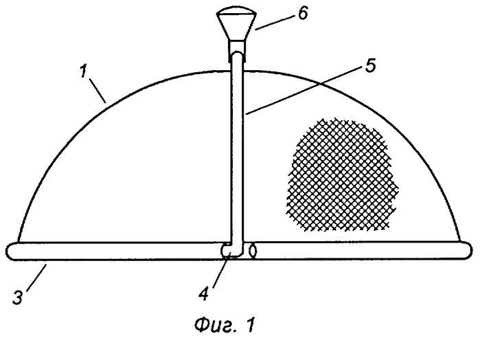 Устройство для защиты продукта от электромагнитного излучения при варке в микроволновой печи