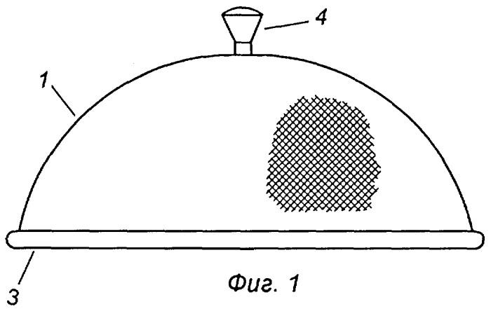 Устройство для экранирования продукта при его варке в микроволновой печи