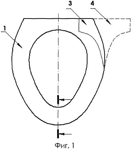 Накладка гигиеническая многослойная для сиденья или верхней части унитаза (варианты)
