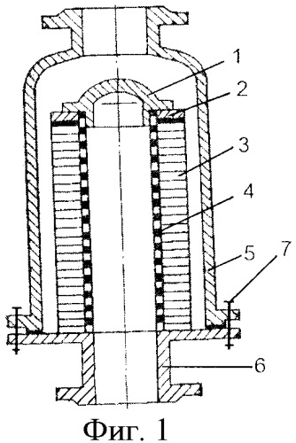 Кассетный огнепреградитель с радиальными каналами