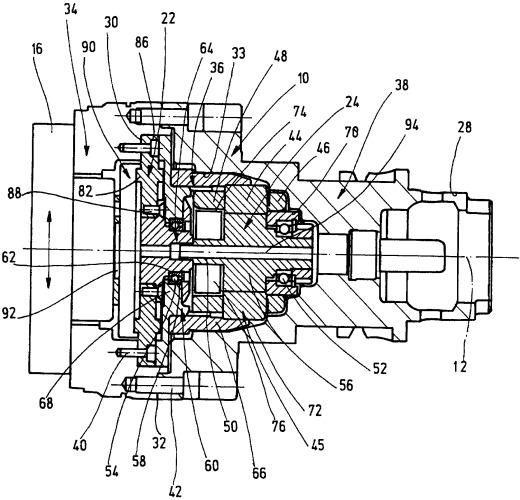 Инструментальная головка с серводвигателем