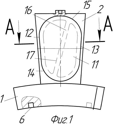 Способ изготовления облегченной лопатки для газотурбинных двигателей