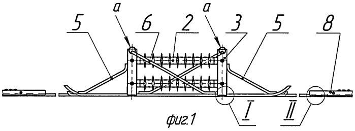 Устройство для секционирования контактной сети электрифицированной железной дороги