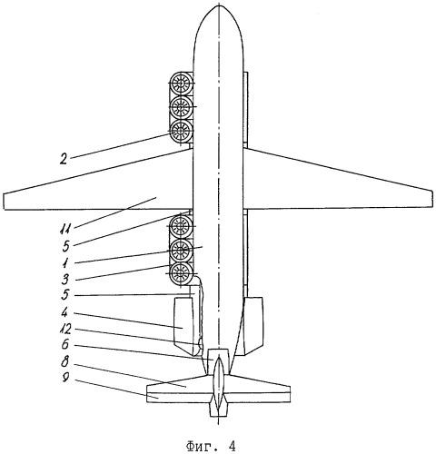 Турбовентиляторный способ создания подъемной силы летательного аппарата в горизонтальном полете, летательный аппарат-турболет, летательный аппарат самолетного типа повышенной грузоподъемности