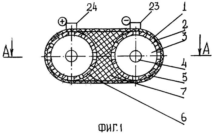 Двухпоточный электроактиватор воды