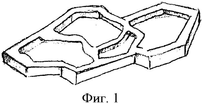 Способ изготовления малых архитектурных форм (варианты)