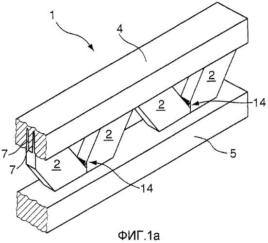 Решетчатая балка из дерева для строительства