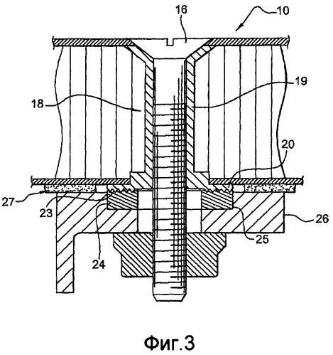 Устройство, предназначенное для крепления легкой панели на опорном элементе
