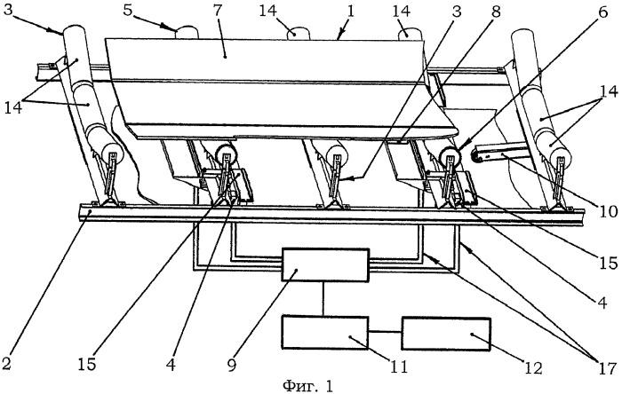 Способ непрерывного измерения веса перемещаемых материалов на ленточных конвейерах, система для его осуществления и весовая роликоопора ленточного конвейера