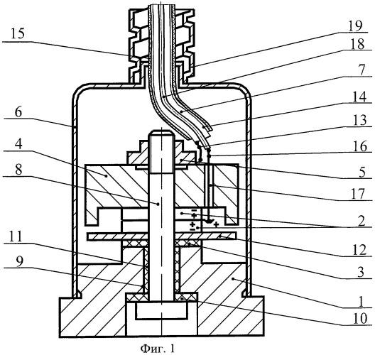Пьезоэлектрический акселерометр