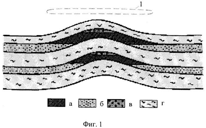Способ геофизической разведки месторождений нефти и газа