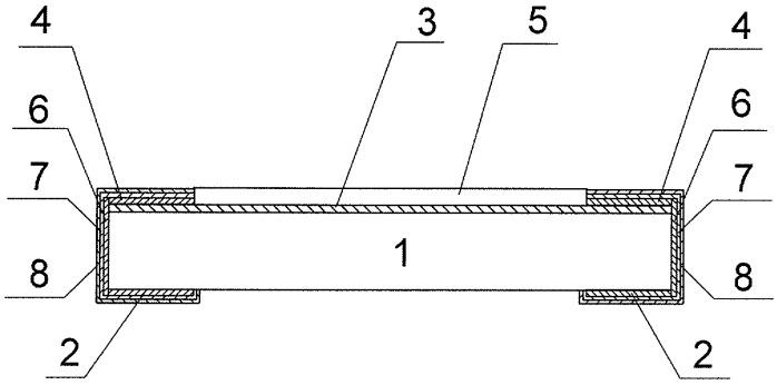 Способ изготовления прецизионных чип-резисторов по гибридной технологии