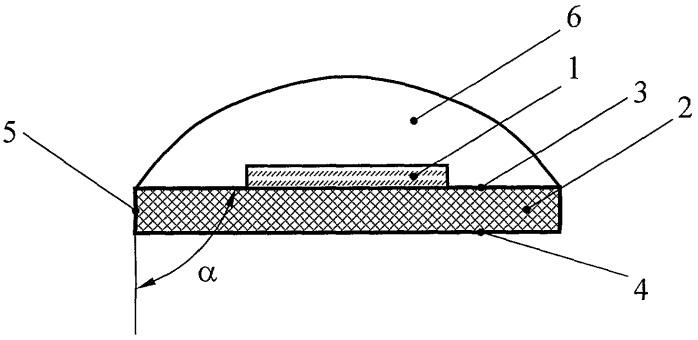 Светодиодный модуль с полимерным покрытием