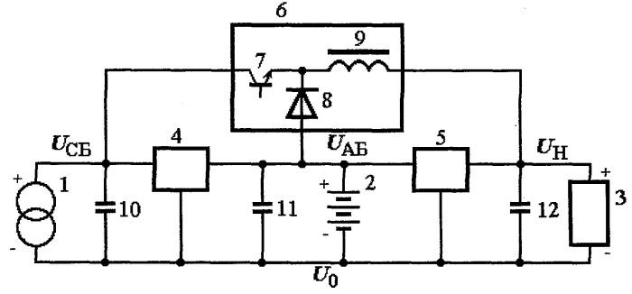 Способ распределения энергии в автономной системе электроснабжения