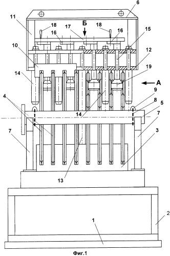 Стенд для сборки плоских панелей в коллекторные блоки