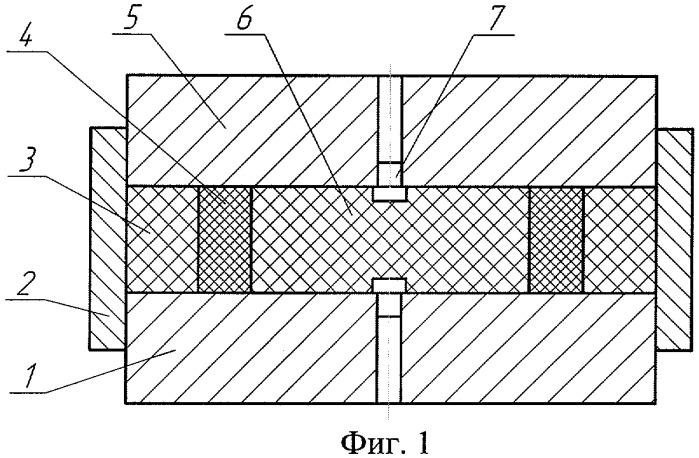 Способ радиально-осевого прессования деталей из материалов с неупорядоченной структурой