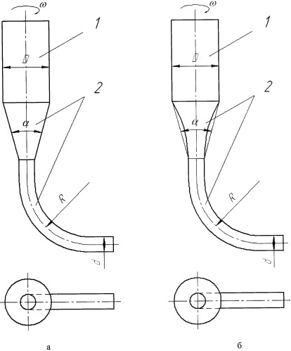 Металлоприемник для центробежного литья с вертикальной осью вращения