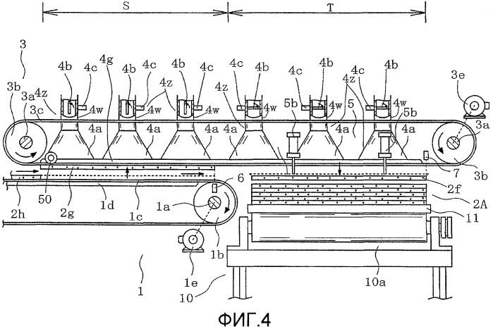 Способ транспортировки листов шпона и конвейерный комплекс для его осуществления
