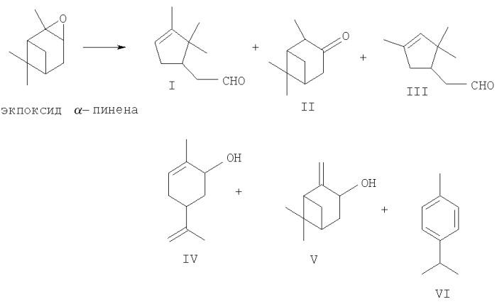 Способ получения камфоленового альдегида