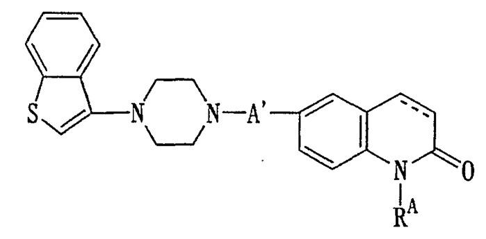 Пиперазин-замещенные бензотиофены для лечения психических расстройств