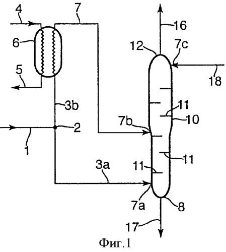 Способ и устройство производства потока сжиженного природного газа