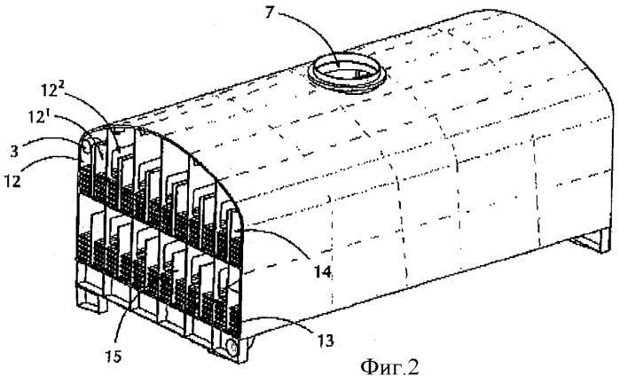 Вакуумный резервуар для обработки масел