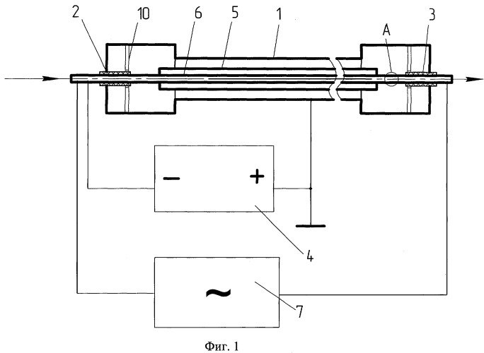 Устройство для нанесения покрытия на внутреннюю поверхность трубы