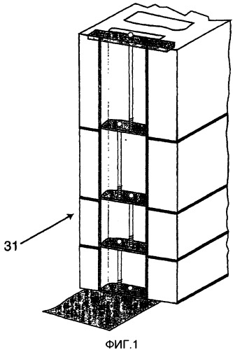 """""""блоки на болтах"""" - система для типовых конструкций каменной кладки, имеющих предварительное напряжение с натяжением арматуры на бетон"""