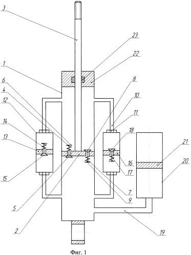 Амортизатор гидравлический с регулируемой характеристикой