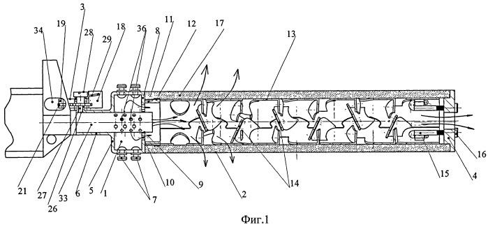 Комплект интегрированного глушителя и заглушки - дульного тормоза-компенсатора для дозвукового и сверхзвукового режимов стрельбы из огнестрельного оружия