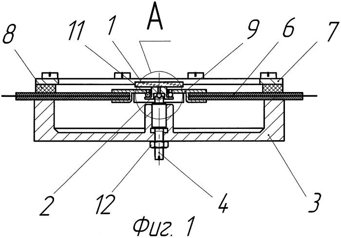 Двухкоординатный пьезоэлектрический дефлектор