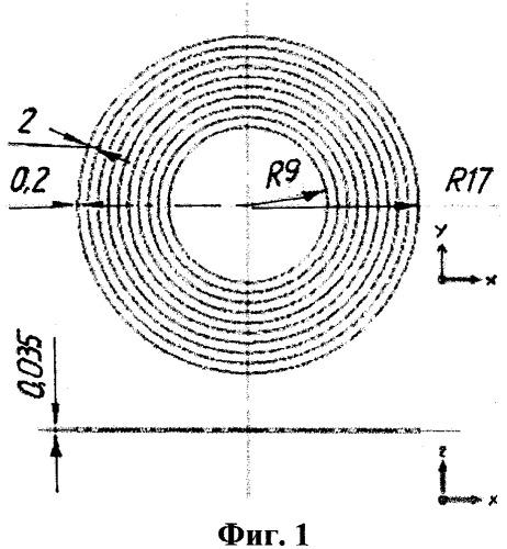 Мультичастотная радиометка резонансного типа