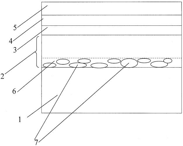 Полупроводниковый светоизлучающий прибор с пористым буферным слоем