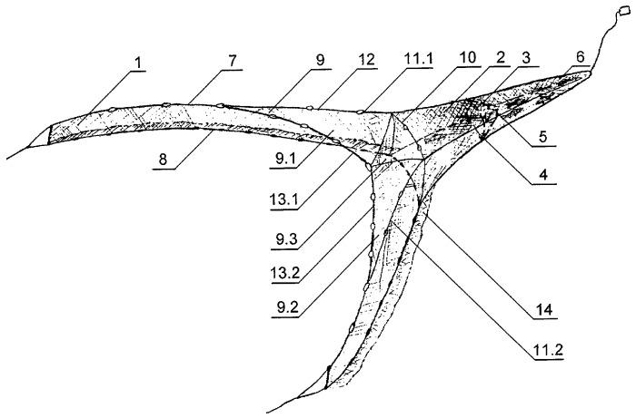 Мальковый донный невод драганова-мартынова