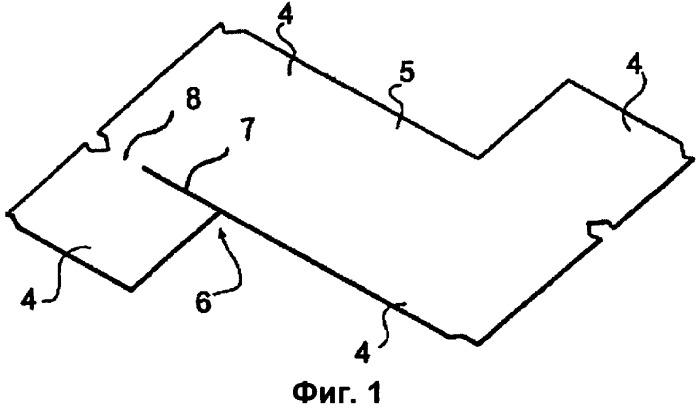 Способ изготовления полой конструкции из листового материала и полая конструкция из листового материала