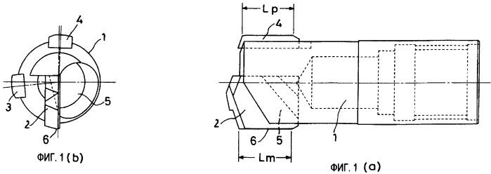 Головка сверла для обработки глубоких отверстий