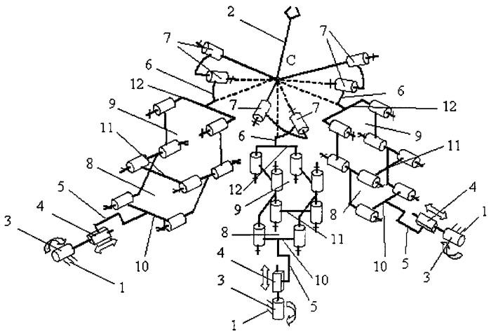 Пространственный механизм