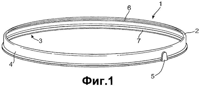 Легкооткрываемый контейнер и конструкция крышки